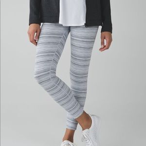 Lululemon Cyber Stripe Tights